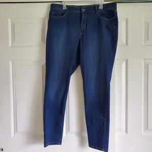 Gloria Vanderbilt Slimming Effect Skinny Jeans Bl